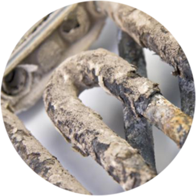 Limescale can cause damage expense in the home