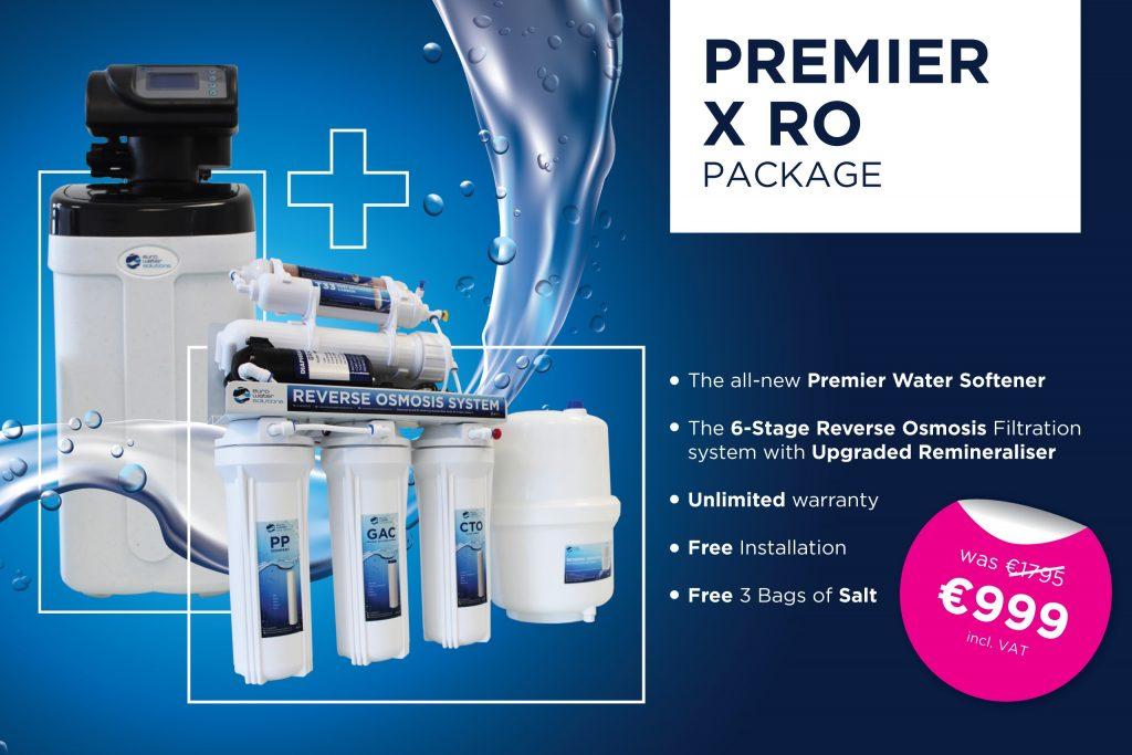 Premier X RO Water Filter Package